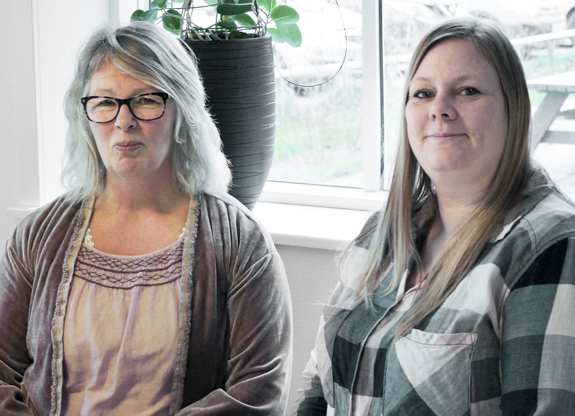 Charlotte Munch og Bianca Kehlet Bruhn Kofoedsminde